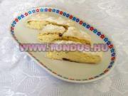 Hamis túrós sütemény