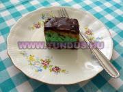 Kiwi szelet sütemény | Kivi szelet sütemény