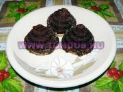 Morgós csúcs süti