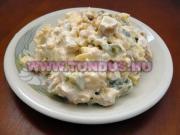 Orosz hús saláta